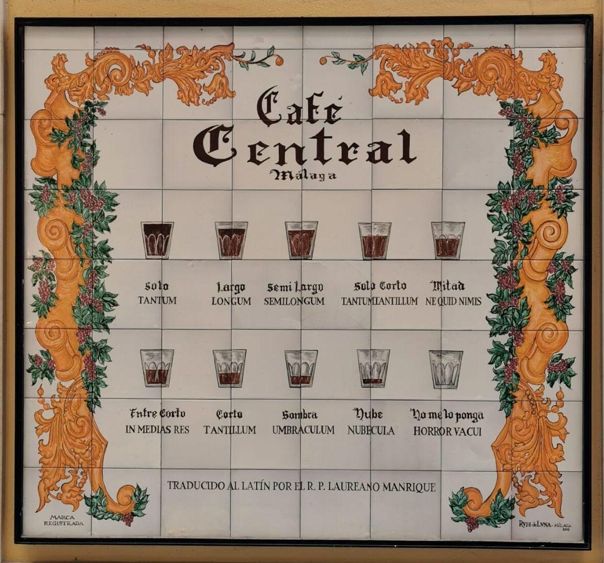 ¿CÓMO PEDIR UN CAFÉ EN MÁLAGA?